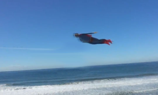 It's a Bird? It's a Plane? It's Superman? NO! It's an RC Flying Toy
