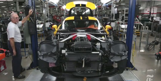 How a SRT Viper Is Assembled