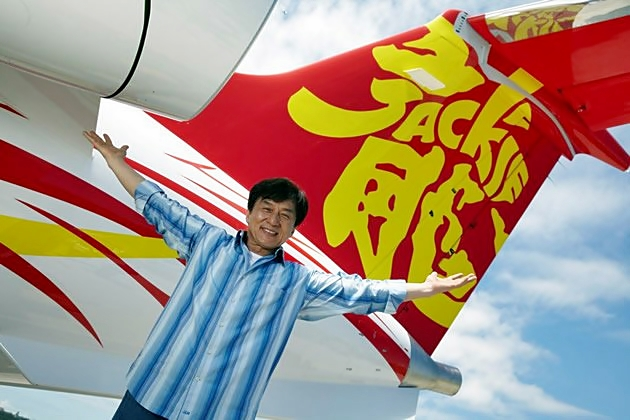 Jackie Chan, Jackie Chan jet, Embraer Legacy 650, private jet