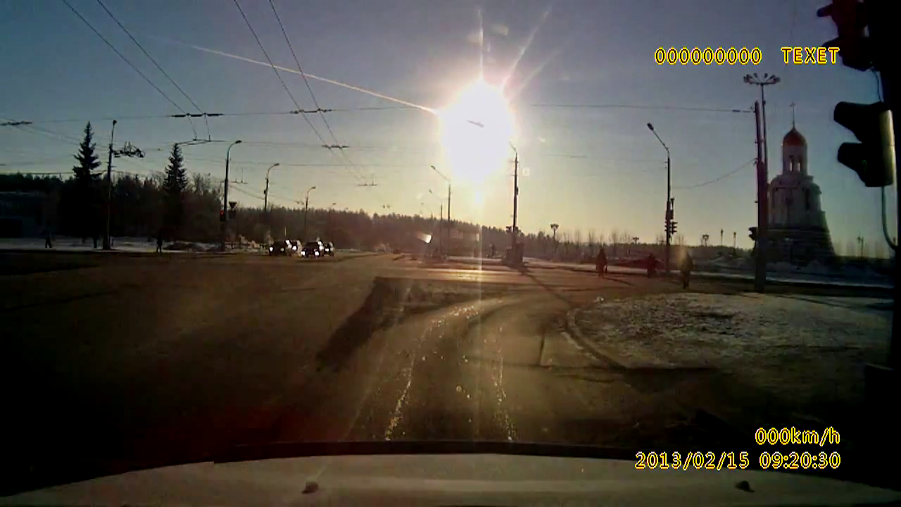 Meteorite Explodes Over Russia