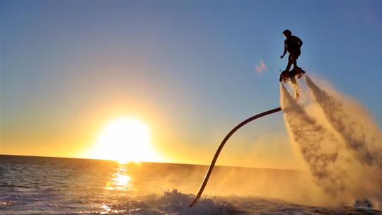 These Feet-Mounted Water Jetpacks Look Super Fun