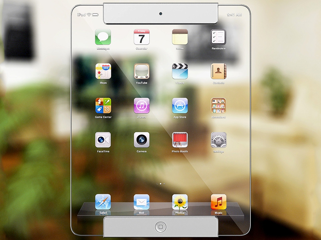 Would You Buy This Transparent iPad?
