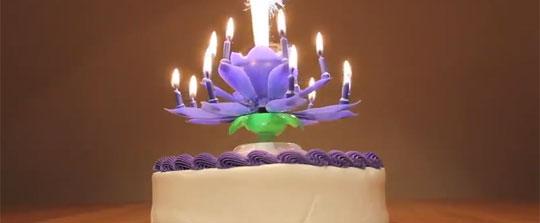 The Amazing Happy Birthday Candle Gadget