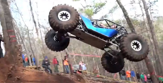 Extreme Offroad Vehicles - Up a Hill at All Costs