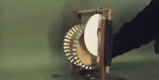 Interesting Perpetual Motion Machine or Is It ?