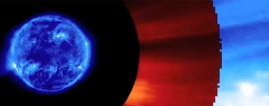 Space Weather an Alternate Hypothesis of Climate Change
