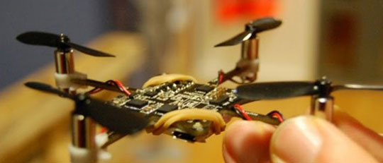 Tiny Quadcopter Is Insanely Fast