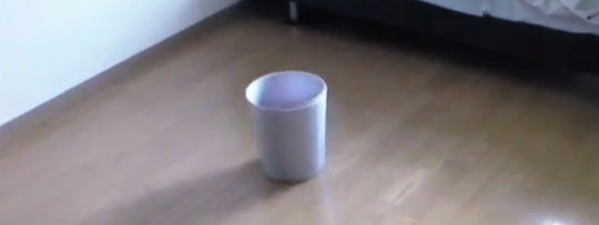 Smart Trash Can Moves Autonomously to Catch Your Trash