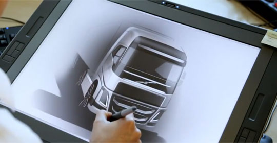 Designing the New Volvo FH Truck