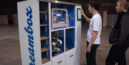 3D Printers in Vending Machines