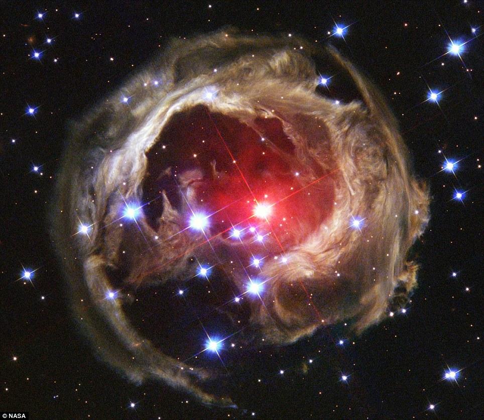 light echo, NASA,