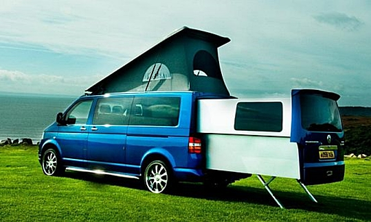 T5 DoubleBack VW Transporter c&ing Overland Motorhomes & Is This The Definitive Van For The Modern Camper?