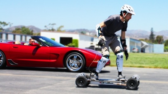 Trail Rider, 4WD electric skateboard, Gnarboards,