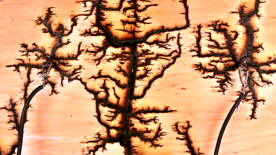 15000 volts, lightning, Melanie Hoff, Pratt Institute