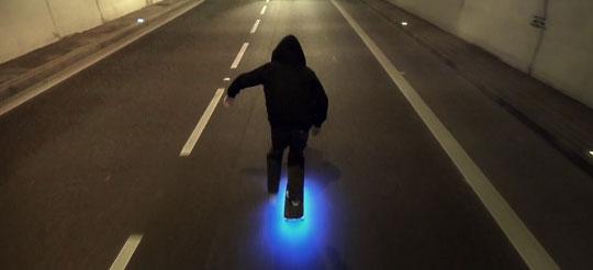 FireFly - LED Skateboard