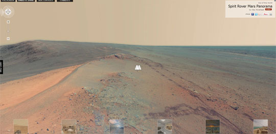 Finally a 360 View From Mars - Thanks Curiosity Rover!