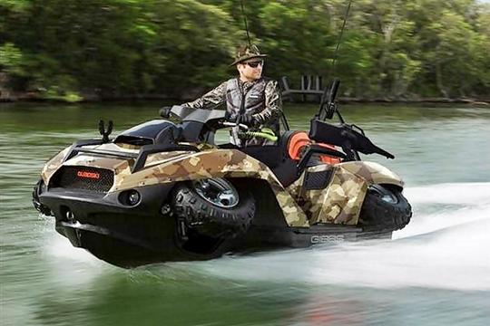 Gibbs Quadski: The Amphibious 4WD Vehicle