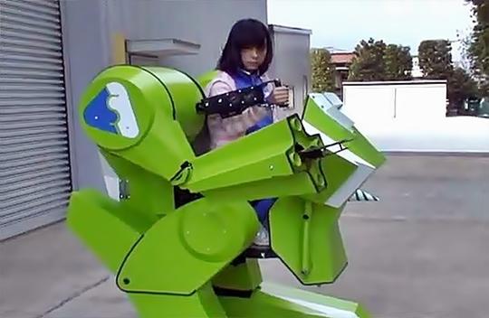 Kidswalker NT, Sakakibara Kikai, Mecha Robot,