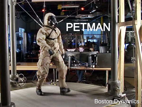 PETMAN, humanoid robot, Boston Dynamics,