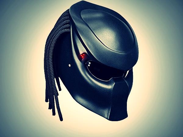 Predator helmet, NLO Moto,