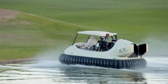 The Hovercraft Golf Cart