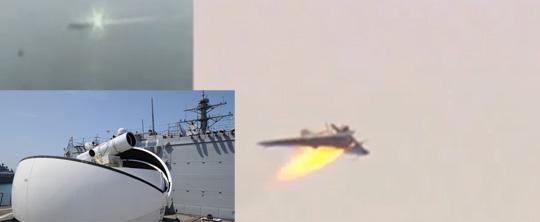 U.S. Navy Deploys Laser Weapon System on Warships