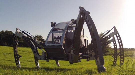 Mantis - The Spider-like Walking Machine