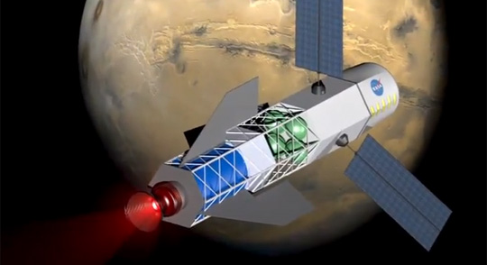 From Earth to Mars in 30 Days - New Engine Invented