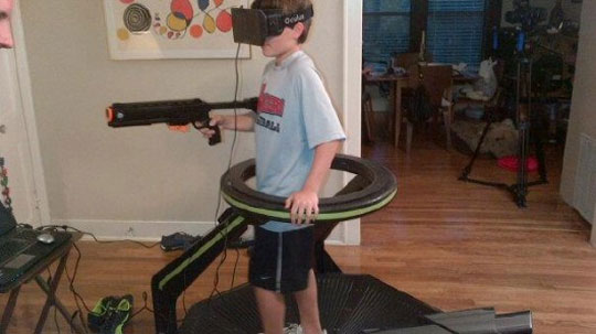Immersive Gaming Just Got Better - Oculus Rift + Virtuix Omni