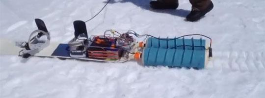 Propulsurf - Interesting Twist To Motorized Snowboarding