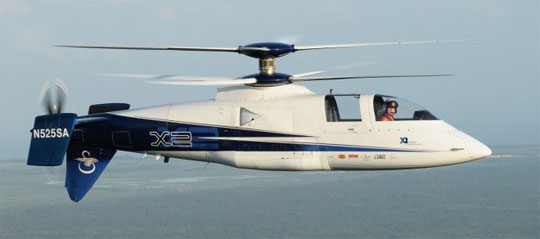 Sikorsky X2 World's Fastest Helicopter