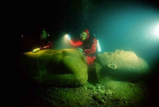 Heracleion, lost Egyptian city,