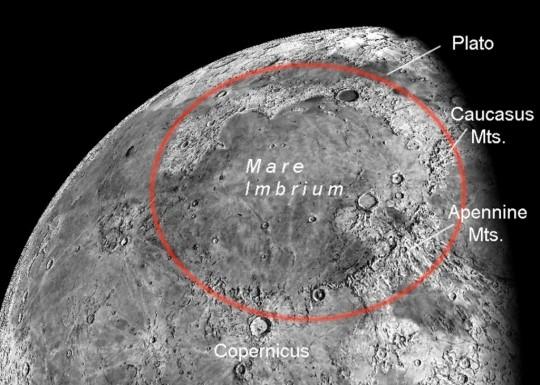 NASA, Mare Imbrium,