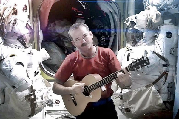 This Is How Astronauts Have Fun – They Make Viral 'Space Oddity' Videos