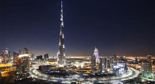 Dubai Timelapse Makes The World Seem Magical
