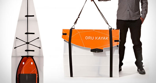 Foldable Kayak Like Origami - Oru Kayak