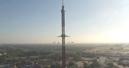 Texas Skyscreamer - World's Tallest Swing Ride