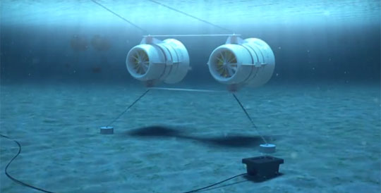 Generating Power from Oceans and Rivers with Tidal Turbines