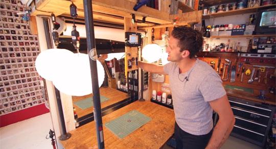 Casey Nesitat's Film Making Studio is Very Interesting