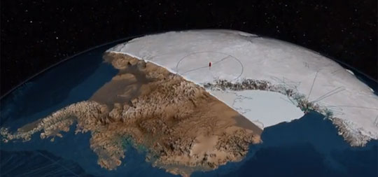 How Antarctica Would Look Without Ice