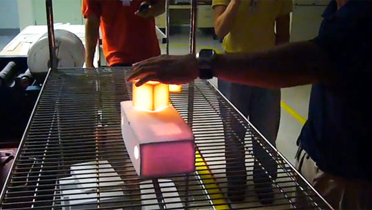 NASA's Magic Tiles: Hold 2,200 Degree Heat In Your Hands