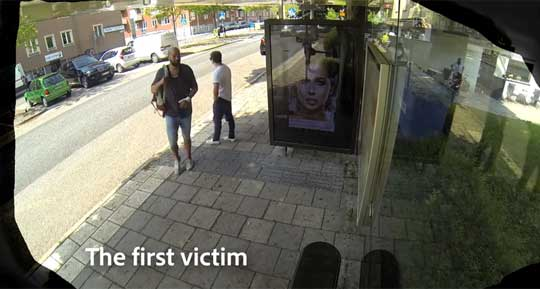 How Would You React If Your Face Was On a Billboard, Live?