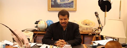 Neil deGrasse Tyson Says Humans Are Too Stupid to Be Visited by Aliens
