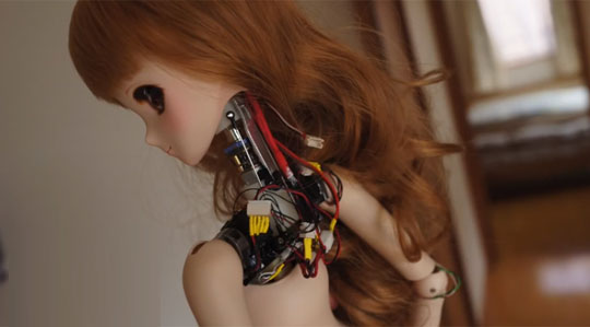 Smart Doll - The First Robotic Barbie-like Doll