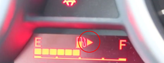 Do You Know What The Small Arrow Beside The Gas Tank Means in Your Car?