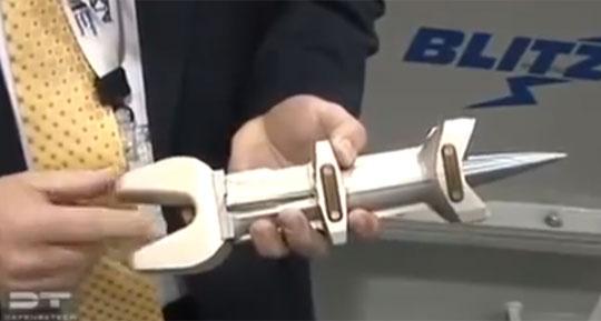 General Atomics Railgun Test 2013