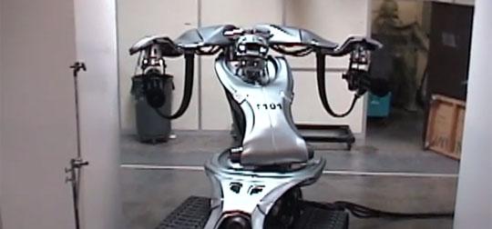 Terminator 3 Effects Team Built Real Robot Assassins