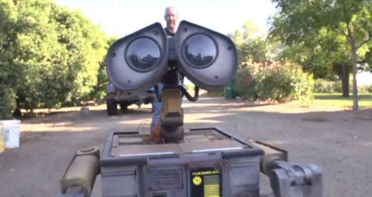 Wall-E Recreated as a Real-Life Robot