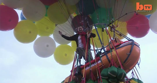 The Man Who Wants to Cross the Atlantic Using Only Balloons