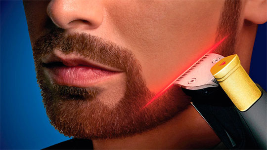 Philips 9000 Beard Trimmer Has a LASER !!